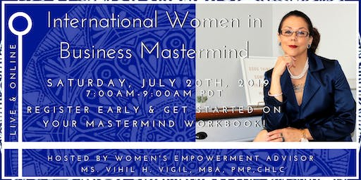 Monthly Mastermind - Local to Global with International Women in Business!