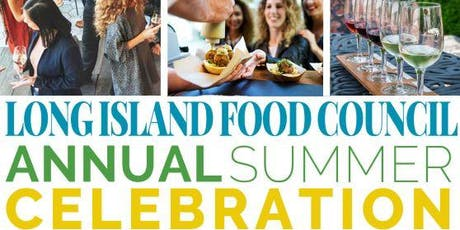 Long Island Food Council  Annual Summer Rooftop Celebration tickets