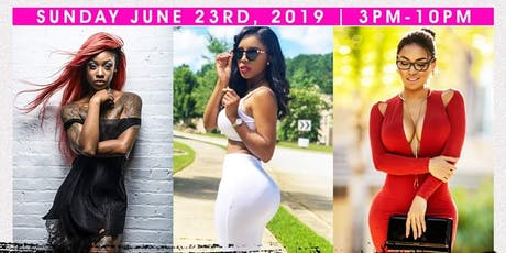 Sun 6/23 Pretty Girls Rock Day Party @ Hudson Terrace •  Music by the Hottest Female DJs •  No Cover before 5 PM w/ RSVP •  Doors Open @ 3 PM tickets
