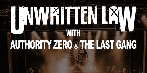 Unwritten Law w/ Authority Zero & The Last Gang