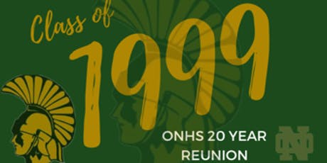 ONHS Class of 1999 - 20 year Reunion tickets