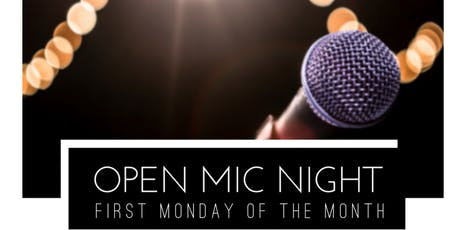 Open Mic Nights at 100 Braid St - First Monday of Every Month tickets