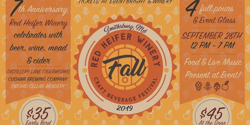 Craft Beverage Festival at Red Heifer Winery