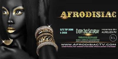 Afrodisiac - November Edition [Saturday November 9th]