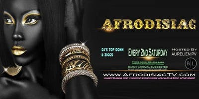 Afrodisiac - December Edition [Saturday December 14th]