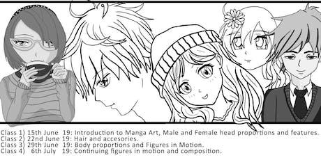 St Marys: Weekend Manga Art Classes tickets