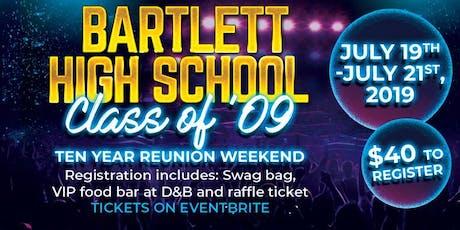 Bartlett C/o '09 Reunion Weekend tickets