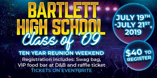 Bartlett C/o '09 Reunion Weekend