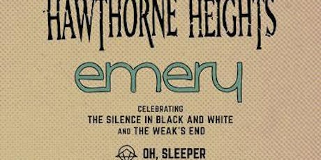Hawthorne Heights / Emery tickets
