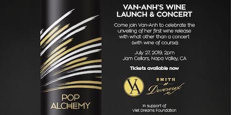 Pop Alchemy Wine Launch & Concert, Napa Valley tickets