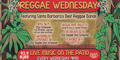 Sandbar's Reggae Wednesdays!