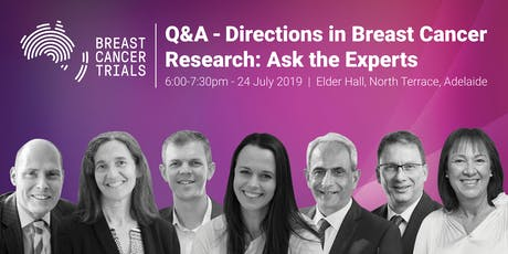 Breast Cancer Trials Presents: Directions in Breast Cancer Research - Ask the Experts tickets