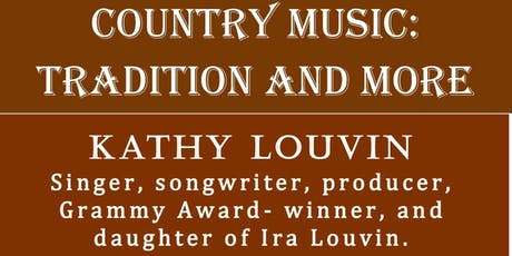 Country Music:  Tradition and More tickets