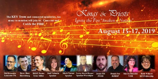 "Kings & Priests ""Ignite the Fire Awaken a Nation"""