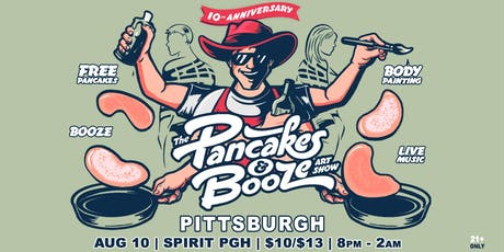 The Pittsburgh Pancakes & Booze Art Show tickets
