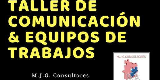 Taller de Comunicación & Equipos de trabajos