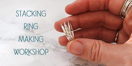 Stacking Silver Ring Making Workshop tickets