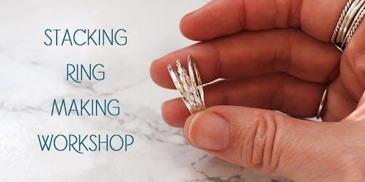 Stacking Silver Ring Making Workshop