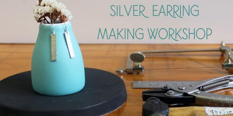 Silver Earring Making Workshop tickets