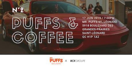 Puffs & Coffee N°2 tickets