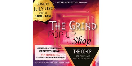 THE GRIND: Pop-Up Shop