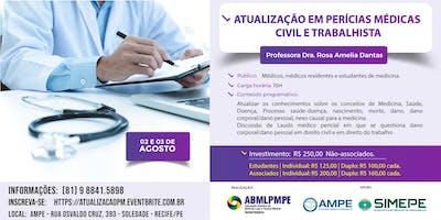 Atualização em Perícias Médicas - Civil e Trabalhista