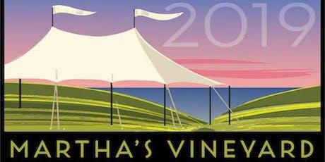 Martha's Vineyard Book Festival 2019 Sponsorship tickets