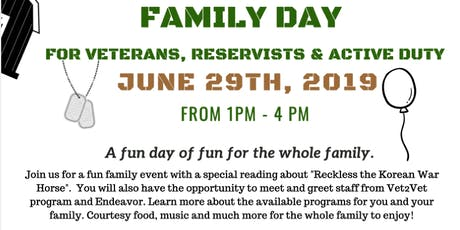 Family Day: for Veterans, Reservists and Active Duty tickets