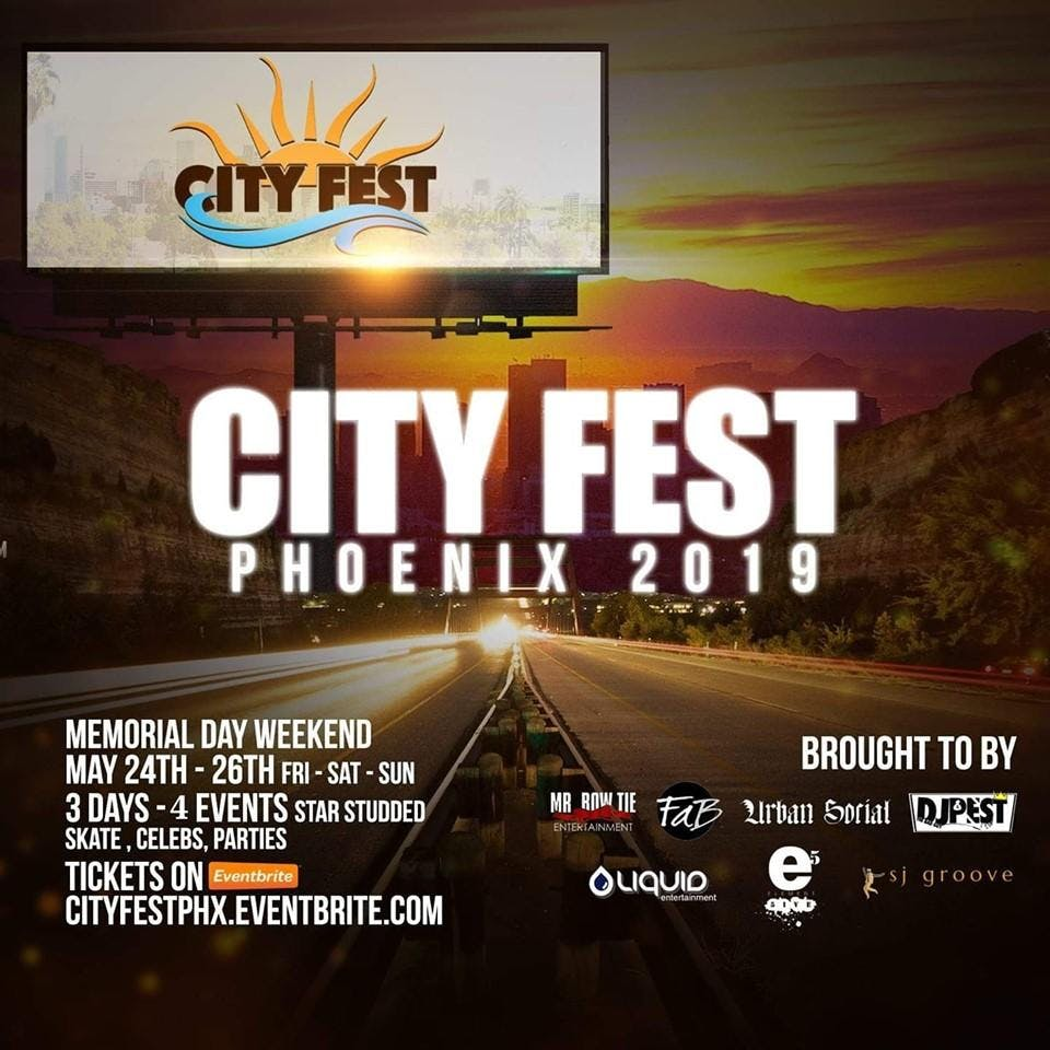 City Fest PHX      Tickets & VIP Weekend Pass
