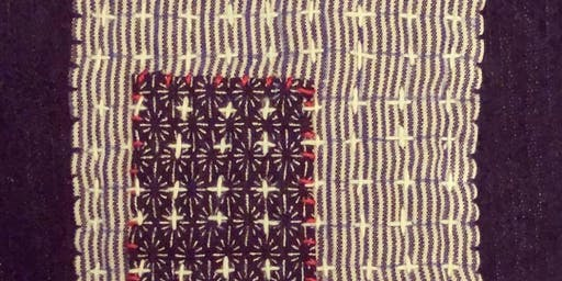 XO Stitch Club : Sashiko Decorative Mending
