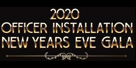 2020 Officers Installation Gala tickets