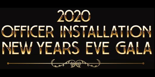 2020 Officers Installation Gala