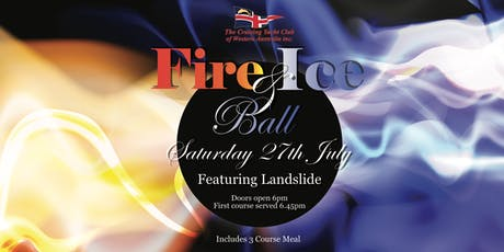 Fire and Ice themed Ball tickets
