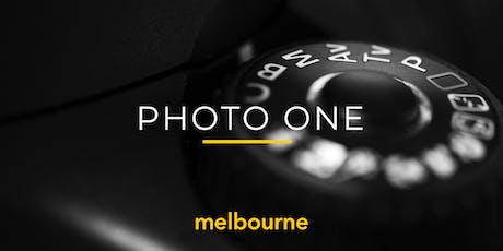Photo One | Melbourne | Beginner (117547) tickets