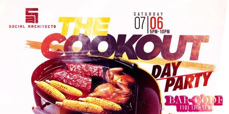 THE COOKOUT DAY PARTY   tickets