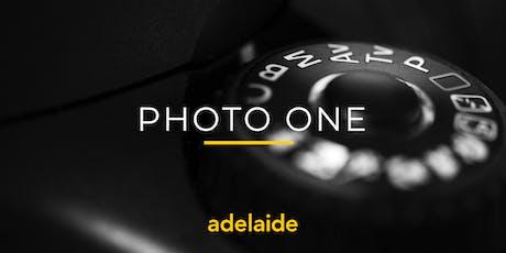 Photo One | Adelaide | Beginner tickets