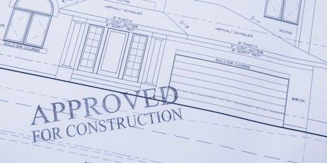 Improving Building Permit Documentation Workshop tickets