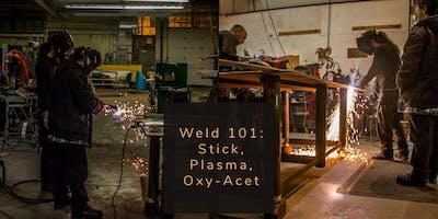 Weld 101: Stick, Plasma, & Oxy-Acet 11.24+12.1.19