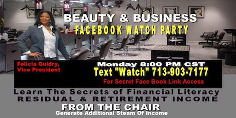 Beauty and Business FB Watch tickets