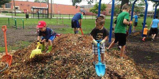 Playground Mulching: Caring for our Parks