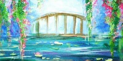 Monèt inspired bridge