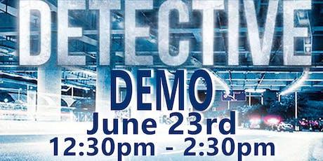 Detective Demo tickets