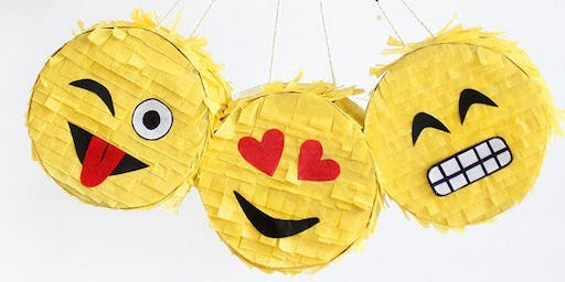 Teen Program: DIY Mini Emoji Piñatas