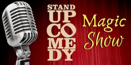 Stand-Up Comedy Magic Show tickets