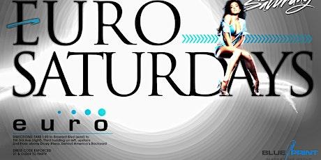 Saturdays @ Club Euro tickets
