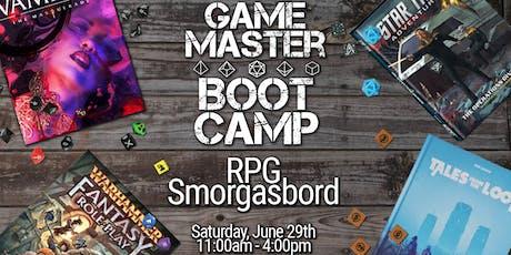 RPG Smorgasbord tickets