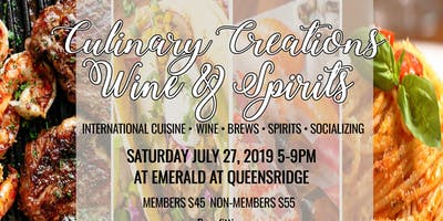 Culinary Creations, Wine & Spirits