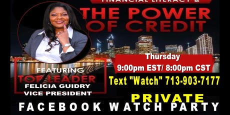 Women Business Opportunity Face Book Watch Party tickets