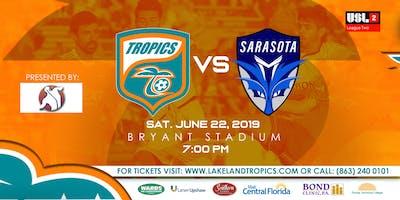 Lakeland Tropics vs Sarasota