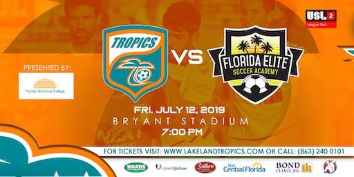 Lakeland Tropics vs Florida Elite SA